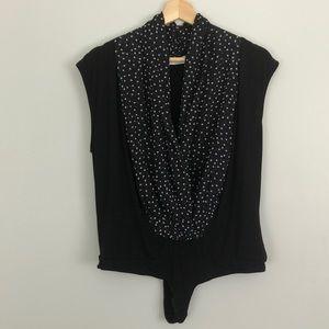Black Eva Mendes - Sleeveless Mila Bodysuit